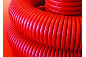Труба гибкая двухстенная для кабельной канализации д110мм