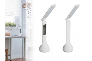 Лампа настольная светодиодная AWAN LED C-W с дисплеем