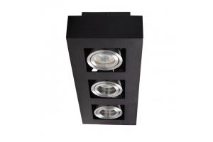 Светильник накладной точечный поворотный STOBI DLP 350-B, черный