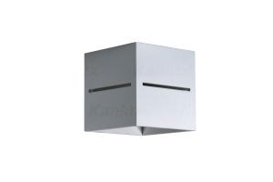 Светильник настенный металлический ASIL G9 W-GR, серый