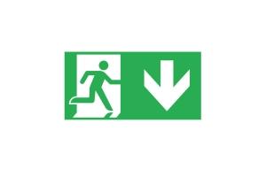 Эвакуационный знак PICTO ONTEC G TMP7
