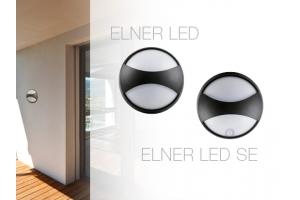 Светильник настенный герметичный ELNER LED 8W-NW-B