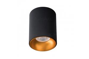 Светильник накладной RITI GU10 B/G черный