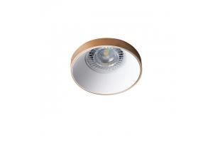 Светильник точечный SIMEN DSO G/W, золото/белый