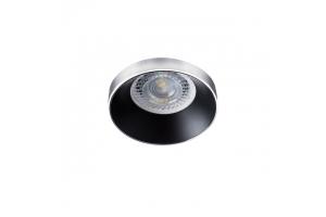 Светильник точечный SIMEN DSO SR/B, серебро/черный