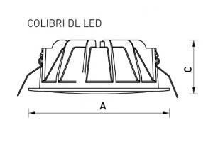 COLIBRI DL LED 11 4000K