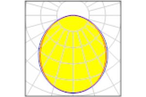 Светильник линейный светодиодный FLORA 100-36/OPAL-1540 IP40 (4000К, серый)
