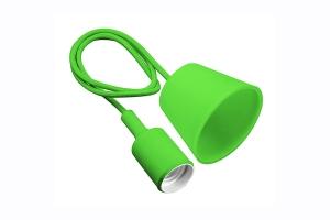 Подвесная лампа MINIO, E27, зеленая