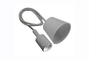 Подвесная лампа MINIO, E27, серая