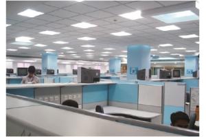 Ультратонкая светодиодная панель KROKUS-PANEL-34-UGR 595х595 IP54/IP20, 4000K, белый