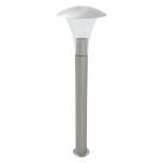 Светильник садовый столбик LUGEA 80, Е27, 60W, нержавеющая сталь