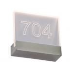 Светильник настенно-потолочный светодиодный DATE 01 LED CH 3000K (clear)