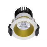 Светильник встраиваемый светодиодный COOL 07 WH/GL D45 3000K (with driver)