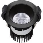 Светильник встраиваемый светодиодный COOL 07 BL/BL D45 3000K (with driver)