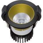 Светильник встраиваемый светодиодный COOL 07 BL/GL D45 3000K (with driver)