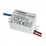 Электронный блок питания LED ADI 350 1x3W