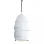 Светильник подвесной гипсовый COIL S, белый