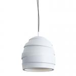 Светильник подвесной гипсовый COIL M, белый