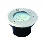 Светильник тротуарный светодиодный GORDO LED14 SMD-O, 0.7W, 6000K, круглый