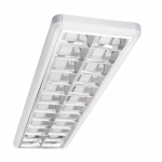 Светильник растровый накладной NOTUS PREMIUM 236 NT, 2x36W, 1250x330мм