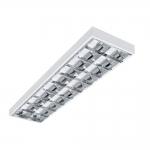Светильник растровый накладной NOTUS 4LED 236 NT для T8 LED, 2x36W, 1223x295мм