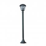 Светильник садовый столбик RILA 100, E27, 60W, графит