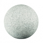 Светильник садовый шар STONO 40, E27, 25W, светло-серый