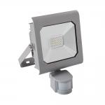 Светодиодный прожектор ANTRA LED20W-NW-SE GR с датчиком движения