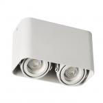 Светильник накладной точечный поворотный TOLEO DTL250-W