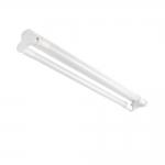 Светильник линейный флуоресцентный ALDO 4LED 2X120, 123.5см