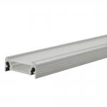Алюминиевый профиль PROFILO D 2m поверхностный, 20мм, 2м (упак. 10 шт.)