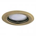 Декоративное кольцо ALOR DSO-BR/M, матовая латунь
