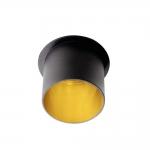 Декоративное кольцо SPAG L B/G, черный/золотой