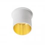 Декоративное кольцо SPAG L B/G, белый/золотой