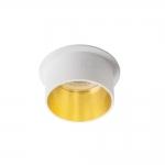 Декоративное кольцо SPAG S B/G, белый/золотой