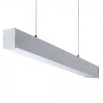 Светильник линейный ALIN 4LED 1X150-SR, серебристый