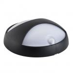 Светильник настенный герметичный  ELNER LED 15W-NW-SE-B с датчиком движения