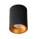 Светильник потолочный RITI GU10 B/G, черный