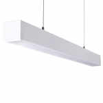 Светильник линейный светодиодный ALD 50W-840-MAT-W диммируемый, белый