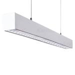 Светильник линейный светодиодный ALD 33W-830-RST-W диммируемый, белый