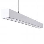 Светильник линейный светодиодный ALD 50W-830-RST-W диммируемый, белый