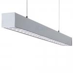 Светильник линейный светодиодный AL 35W-830-RST-SR, серебристый