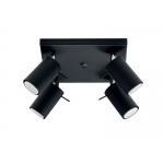 Светильник настенно-потолочный спот LARITO EL-4L-B, черный