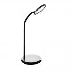 Лампа настольная светодиодная FOLLO LED B, черная