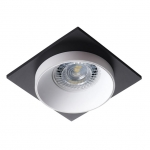 Светильник точечный SIMEN DSL W/W/B, белый/белый/черный
