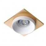 Светильник точечный SIMEN DSL W/W/G, белый/белый/золото