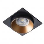 Светильник точечный SIMEN DSL B/G/B, черный/золото/черный