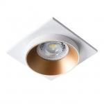 Светильник точечный SIMEN DSL W/G/W, белый/золото/белый