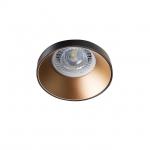 Светильник точечный SIMEN DSO B/G, черный/золото
