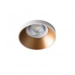 Светильник точечный SIMEN DSO W/G, белый/золото